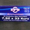 Amunicja 7,92×33 KURZ PPU