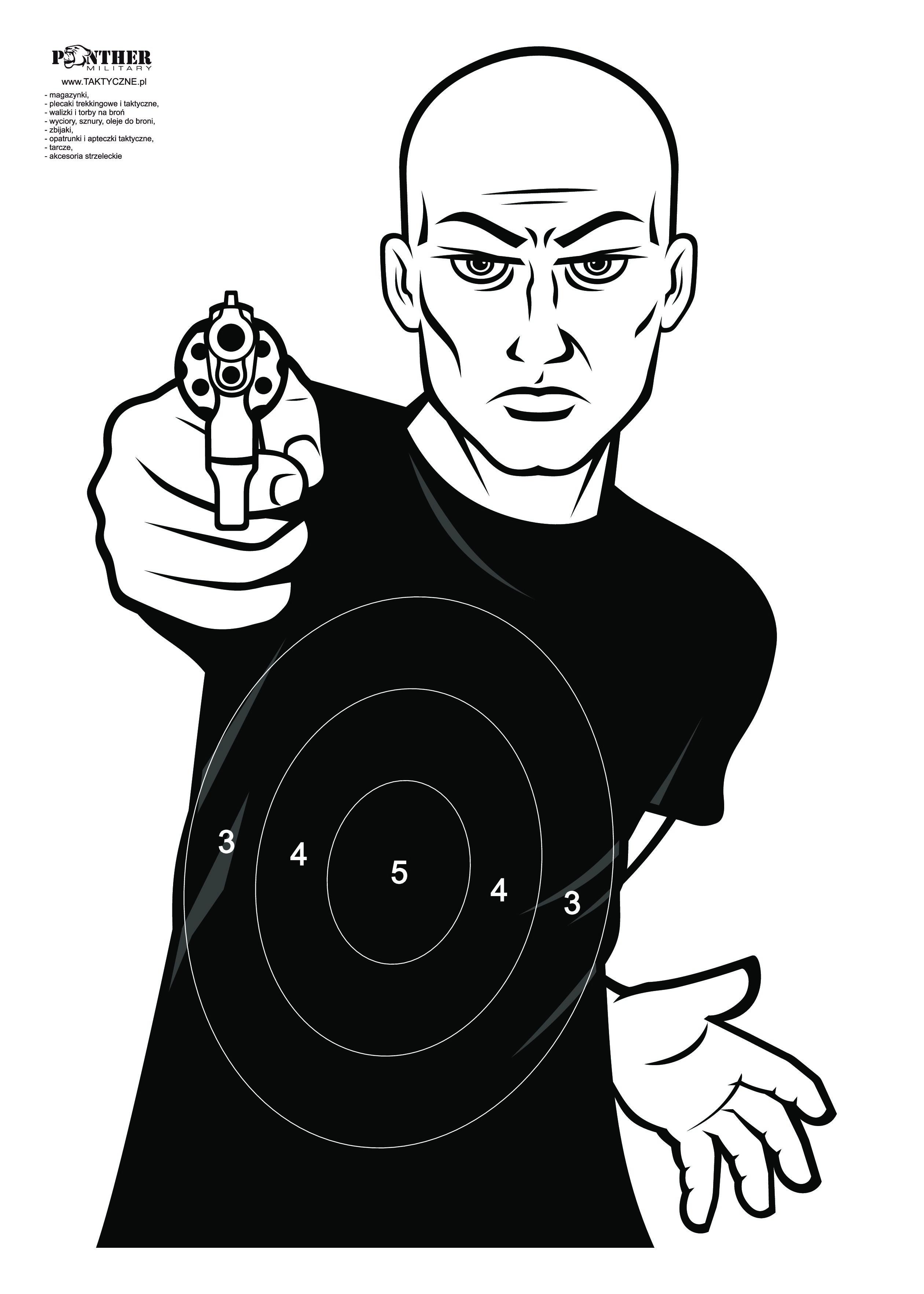 Tarcza Strzelecka Bad Guy